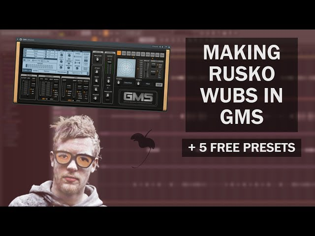 How to Make a Rusko Dubstep Bass Sound in FL Studio | GMS Tutorial