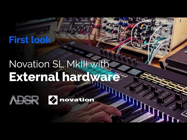Novation 61 SL MkIII – Using with external hardware synths