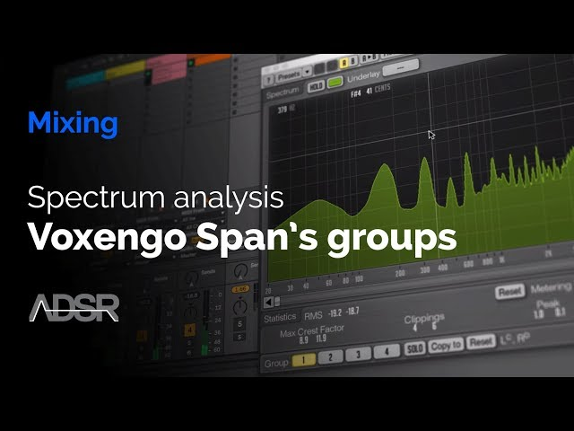 Spectrum Analysis – Voxengo Span's Groups - Audio Tutorial