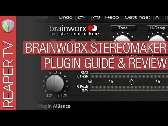 Reaper & Brainkworx bx_Stereomaker Guide - Audio Tutorial Videos