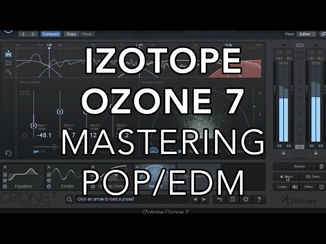 izotope ozone 5 mastering presets